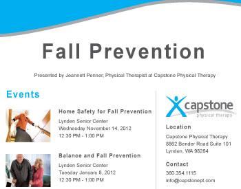 Fall Prevention Seminar